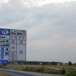 Польша - предстоящие ограничения 1-11 ноября 2012