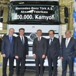 Юбилейный Мерседес сошел с конвейера в Турции