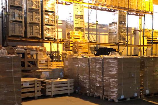 Перегрузка грузов в Москве и области