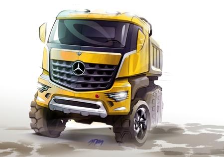 Arocs скоро выходит на транспортный рынок