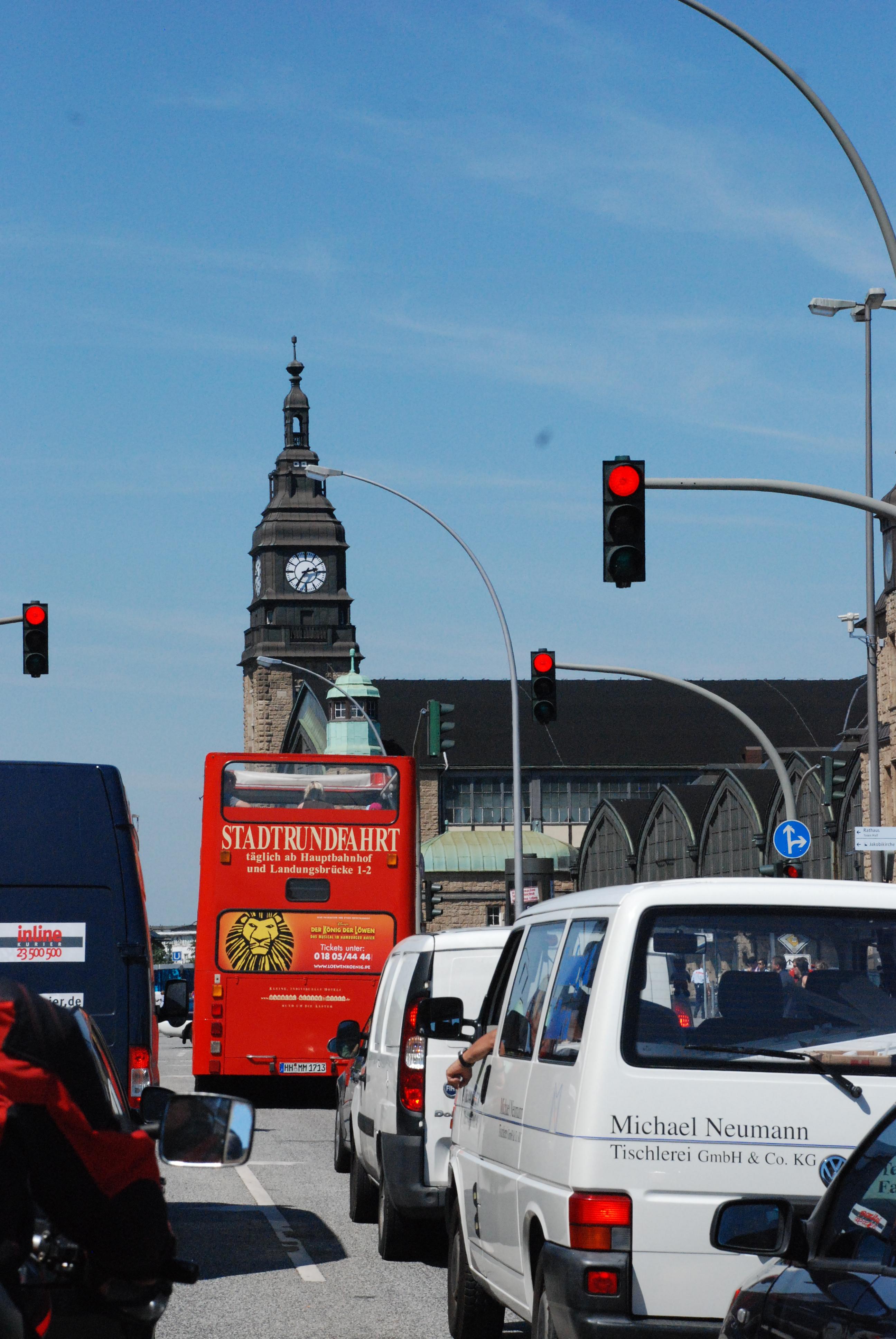 Транспортный туризм в Гамбурге