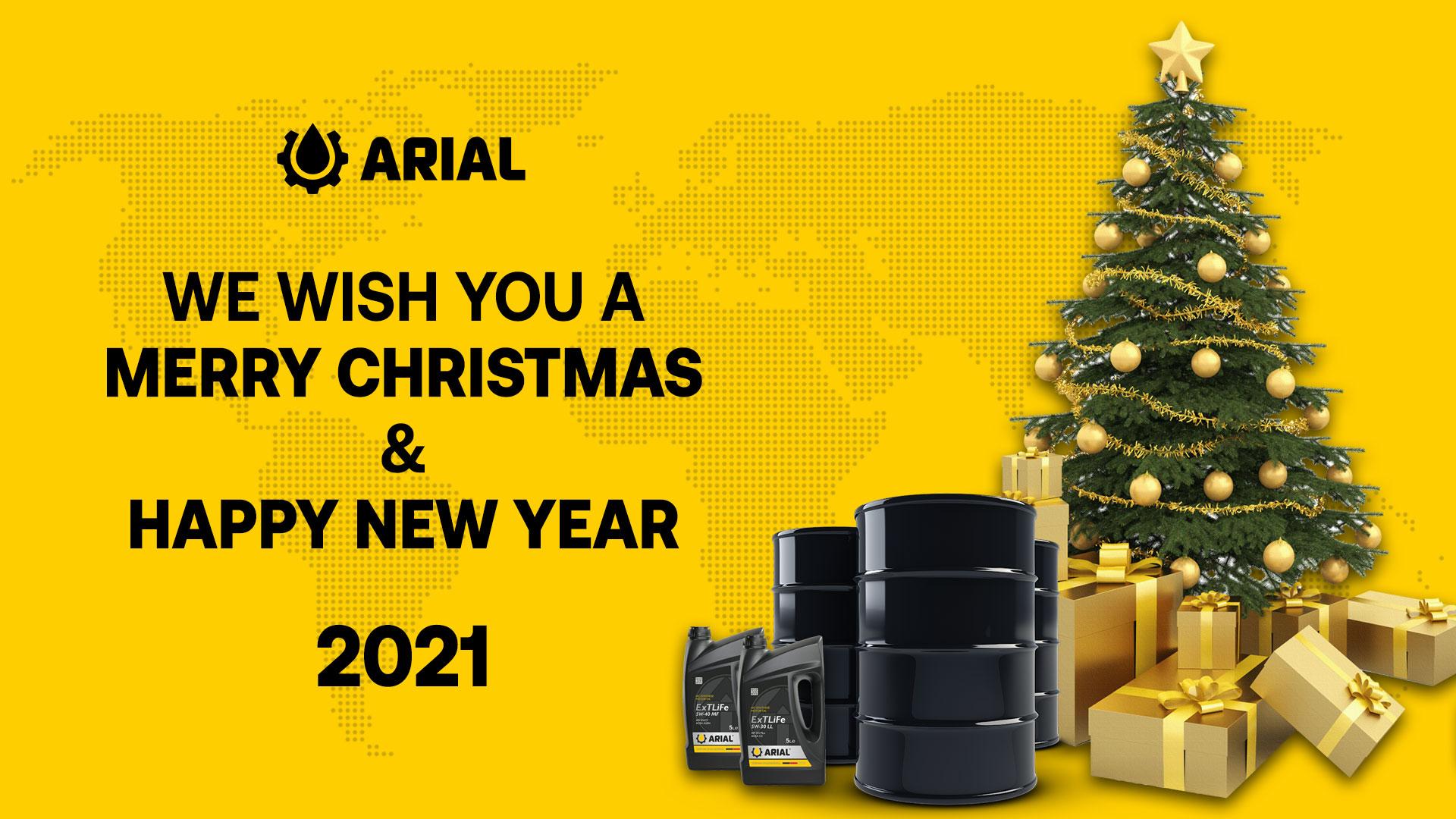 ARIAL OIL: С Рождеством Христовым!