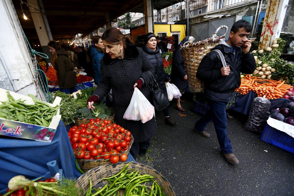 Розничные цены в Стамбуле выросли на 1,52% в июле