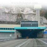 Ограничение движение в туннеле Караванкен