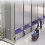 Вертикальный склад Lean-Lift на Hänel