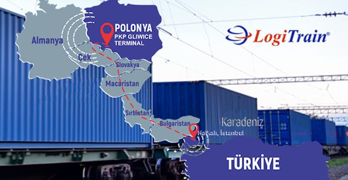 Logitrans запустила услугу LogiTrain между Польшей и Турцией