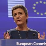 Европейский комиссар по вопросам конкуренции Маргрете Вестагер