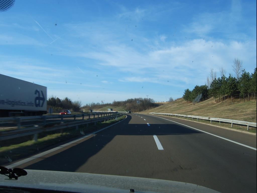 Обзор дорог Сербии в ноябре 2010 года