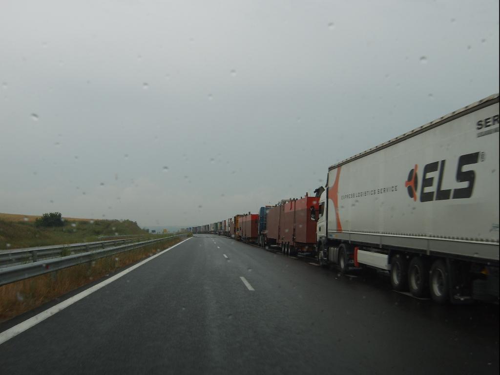 Новые правила работы на границе Болгарии и Румынии