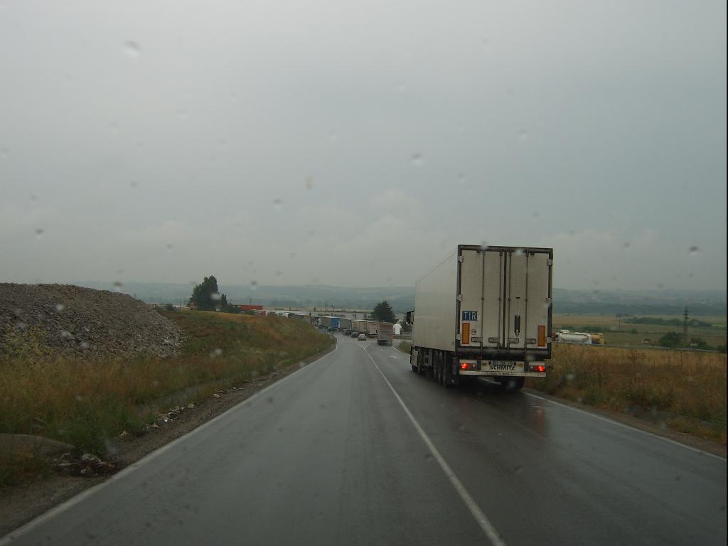 Перевозки Болгария - Турция