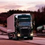 Система связи на Scania