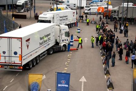 Финал Young European Truck Driver