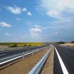 Дорожные работы на автобане Тракия