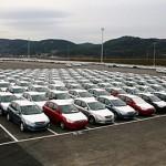 Черная полоса автомобильных производителей