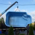 Перевозка бассейнов из Турции - грузоперевозки из Балканского региона