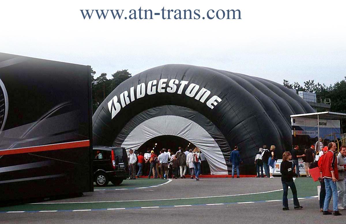 Грузоперевозки из Балканского региона -Bridgestone показывает небывалый рост продаж
