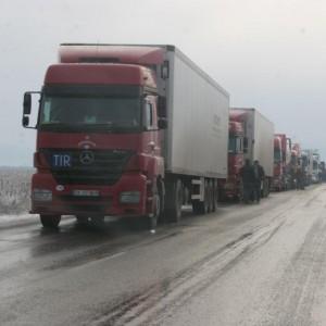 Стара Загора - Казанлык -зима 2010