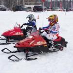 Современные детские мини снегоходы