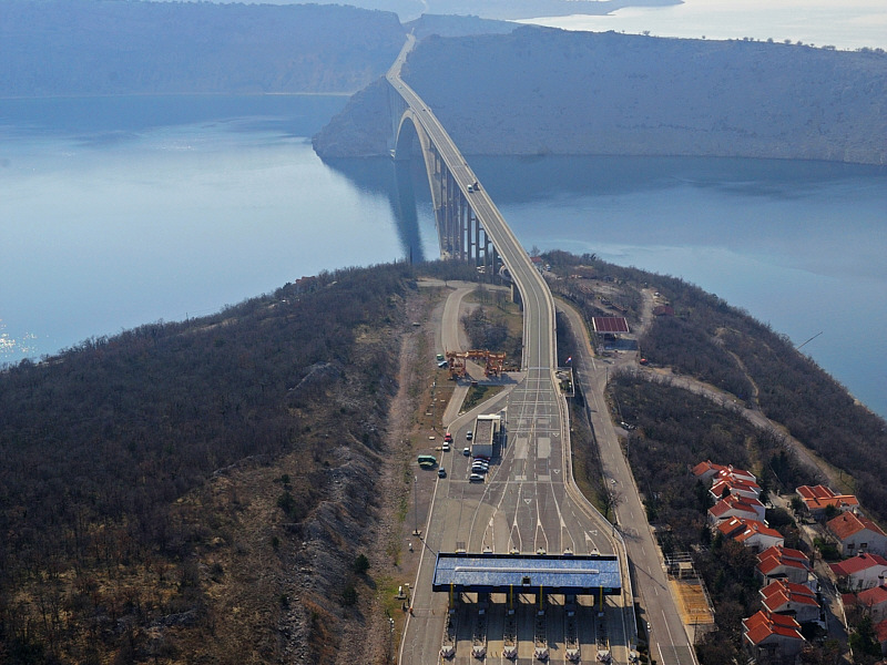 Платные дороги Хорватии