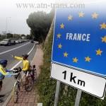 Акции протеста перевозчиков во Франции