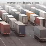 Через Болгарию остановлено движение грузовиков