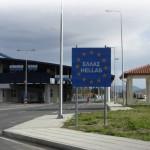 Фермерская дорожная блокада в Греции