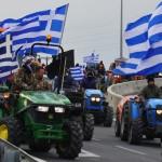 Греческие фермеры возобновили блокаду границ страны
