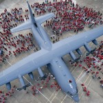Военные самолеты Геркулес переделают в гражданские