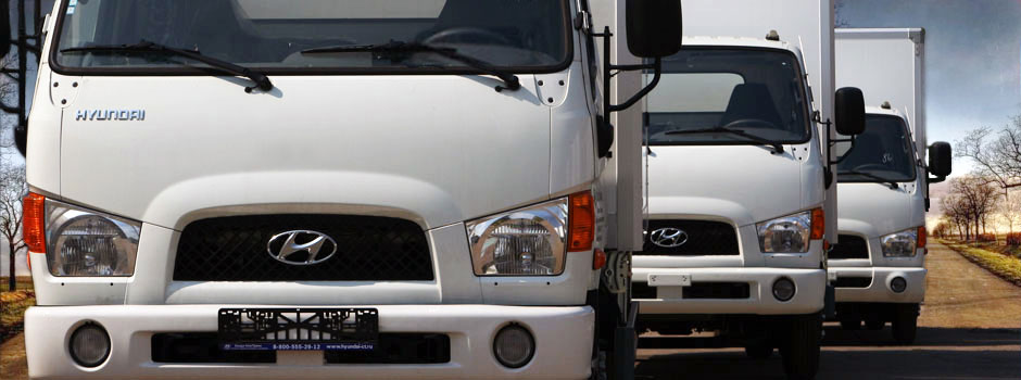 Корейские грузовики в Европе