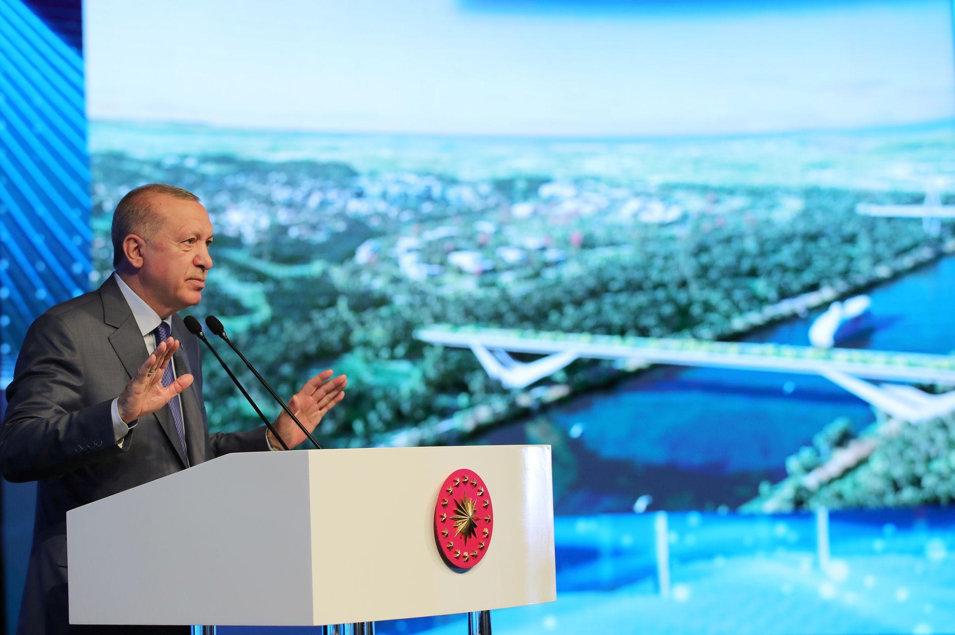 """Проект """"Канал Стамбул"""" стартует со строительства моста"""