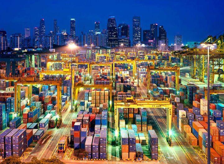 Стремительное падение контейнерных перевозок