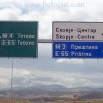 Дорожные таксы в Македонии