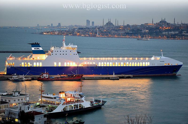 Ekol спустил на воду новый Ro-Ro корабль