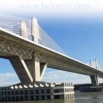 Мост Новая Европа принял первый поезд