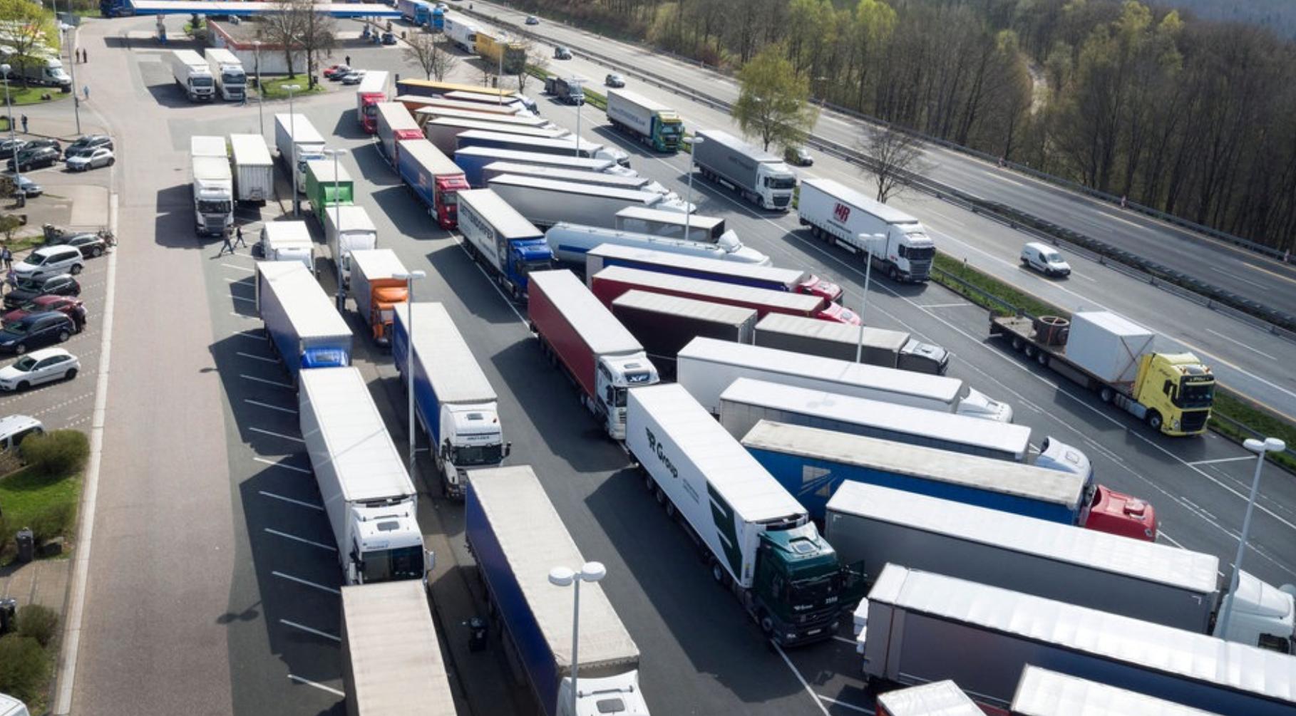 Рост краж грузов на дорогах Германии
