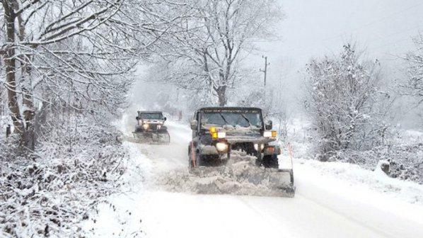 Перевозки из Болгарии в снежной блокаде