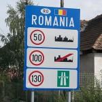 Ограничения на дорогах Румынии