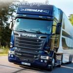 Scania R 520 V8 показала хорошие результаты по экономии топлива