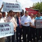 Турецкие перевозчики выразили протест иранским транспортным органам